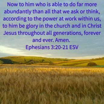 Ephesians 3-20-21