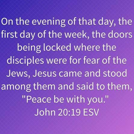 John 20-19 ESV
