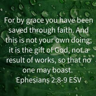 Ephesians 2 8-9 esv