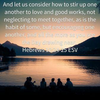 Hebrew 10-23-24