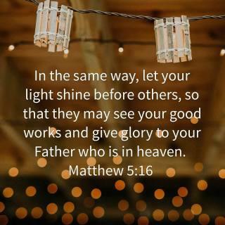 Matt5.16