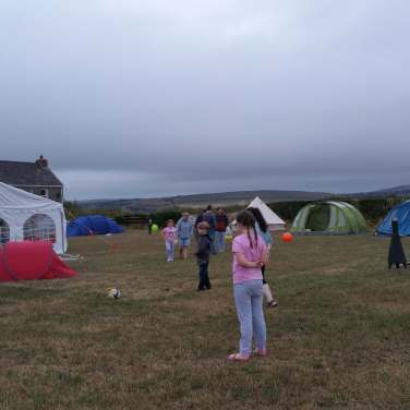 Summer camping fun!